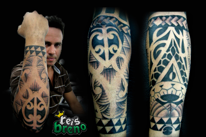maori ante-braço